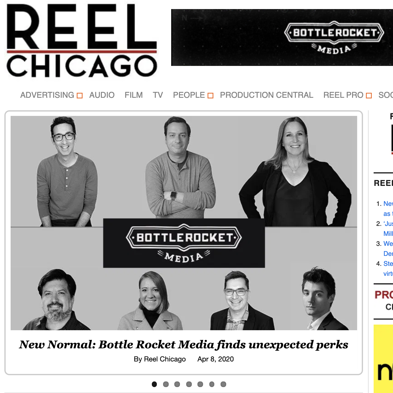 REEL Chicago – The New Normal: Bottle Rocket Media Finds Unexpected Perks
